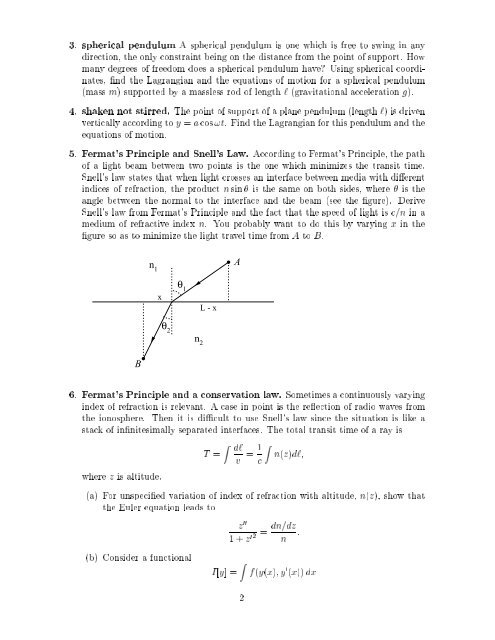 Homework 2 Physics 419