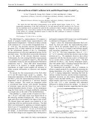 Universal Form of Hall Coefficient in K and Rb Doped Single Crystal ...