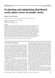 Evaluating and minimizing distributed cavity phase errors in atomic ...