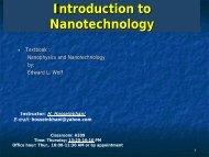 Nanoscience & Nanotechnology Newsletter Introduction     - SANi
