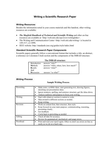 Research paper guide