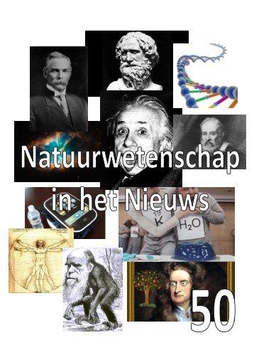 krant 50 - Natuur- en Sterrenkunde - Universiteit Utrecht