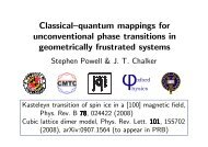 Classical-quantum mappings for geometrically frustrated systems