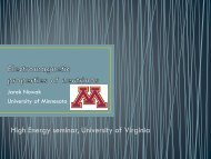 Electromagnetic properties of neutrinos - University of Virginia