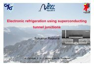 Electronic refrigeration using superconducting tunnel junctions