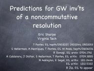 Predictions for Gromov-Witten invariants of a noncommutative ...