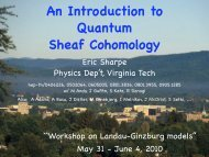 An Introduction to Quantum Sheaf Cohomology