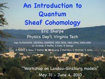 An Introduction to Quantum Sheaf Cohomology
