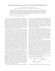 Percolation Enhanced Supersolids in the Extended Bose-Hubbard ...