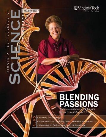 College of Science Magazine, Fall 2007 - Physics - Virginia Tech