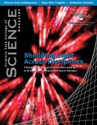 College of Science Magazine, Fall 2005 - Physics - Virginia Tech