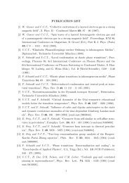 "PUBLICATION LIST [1] W. Gasser and U.C.T., ""Collective ... - Physics"