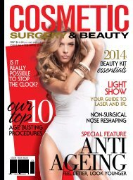 Cosmetic Surgery and Beauty Magazine #63