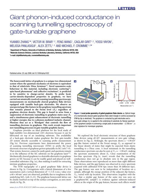 Giant phonon-induced conductance in scanning tunnelling ... - Physics