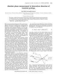 Absolute phase measurement in heterodyne detection of transient ...