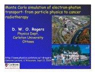 Monte Carlo simulation of electron-photon transport