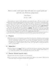 How to write a lab report that will earn you a good mark and prevent ...