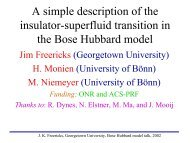 A simplified explanation of the Mott insulator-superfluid transition in ...