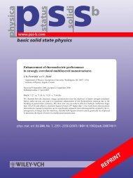 PDF of article. - Physics - Georgetown University