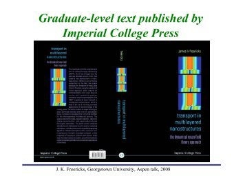 Graduate-level text published by Imperial College Press - Physics ...