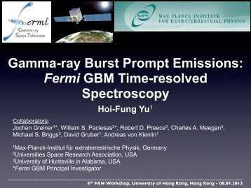 Presentation File - Department of Physics, HKU