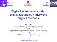 Digital low-frequency radio telescopes and new EM wave physics ...