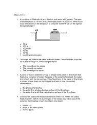Quiz , Ch 15