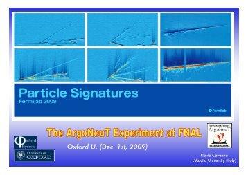 The ArgoNeuT experiment at the Fermilab NuMI-beam line