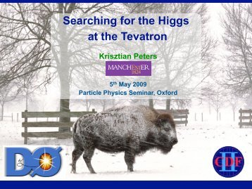 Searching for the Higgs at the Tevatron