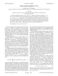 Cluster model investigation of 223Ac - APS Link Manager ...