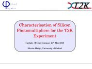 Characterisation of Silicon Photomultipliers for the T2K Experiment