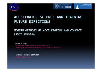 Modern methods of acceleration and compact light sources