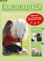 Kundenmagazin der Euroriding Reitsport-Fachgeschäfte