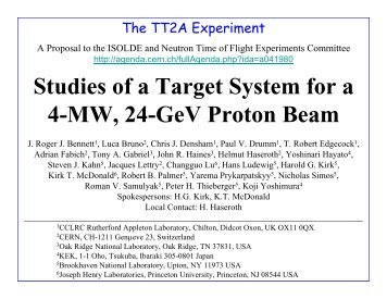 Studies of a Target System for a 4-MW, 24-GeV Proton Beam