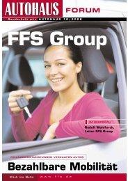Bezahlbare Mobilität - FFS