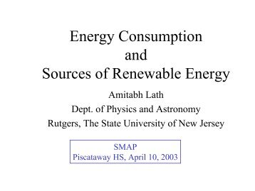 in pdf - Department of Physics and Astronomy - Rutgers, The State ...