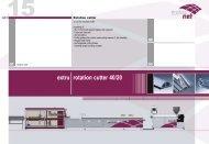 extru rotation cutter 40/20 - extrunet