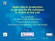Open charm production in pp and Pb-Pb collisions in ALICE at the ...