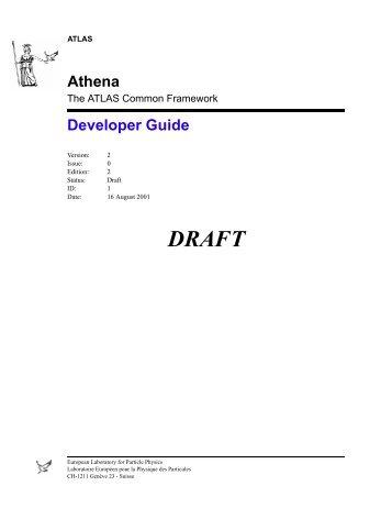 Athena Developer Guide