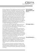 50 Jahre CSU in Erlenbach - bei der CSU Erlenbach-Mechenhard ... - Seite 5