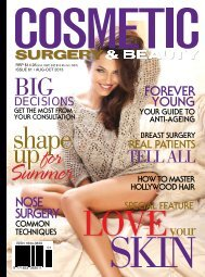 Cosmetic Surgery and Beauty Magazine #61
