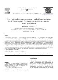 X-ray photoelectron spectroscopy and diffraction in the hard X-ray ...