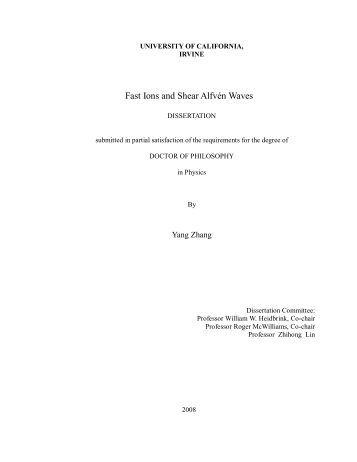 Short phd thesis physics