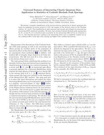 Coulomb blockade in quantum dots