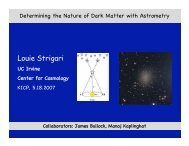 Louie Strigari - Physics and Astronomy