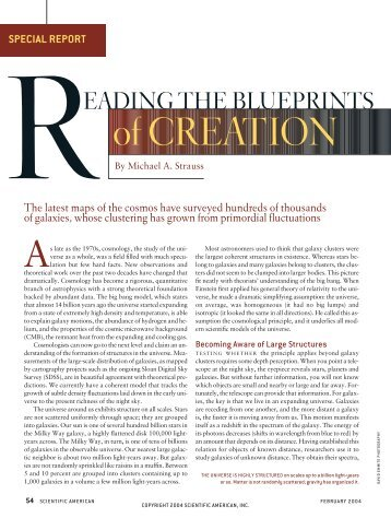 Reading the Blueprints of Creation
