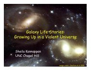 Galaxy Life Stories: Growing Up in a Violent Universe