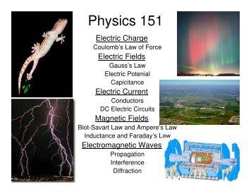 Physics 151