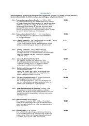 Bücherliste - Konvent der ehemaligen evangelischen Ostkirchen