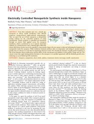 Electrically Controlled Nanoparticle Synthesis inside Nanopores